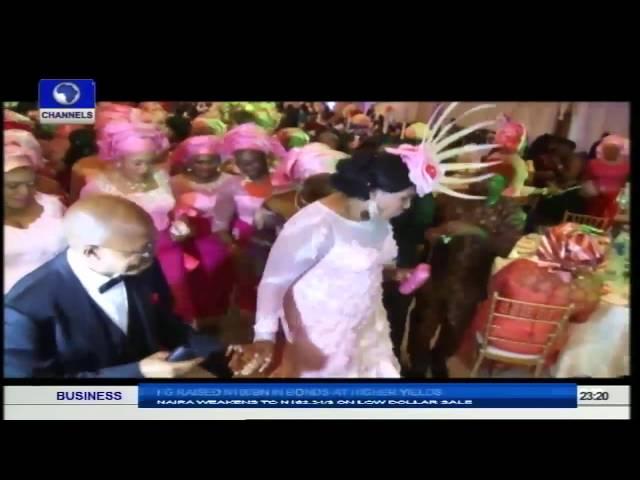 Metrofile: Kelechi Weds Sweetheart; Ezinne In Grand Style