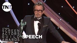 Gary Oldman: Acceptance Speech | 24th Annual SAG Awards | TNT
