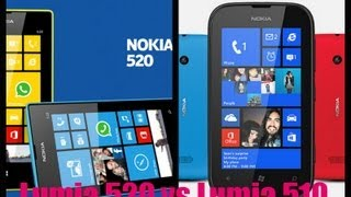 Nokia Lumia 520 vs Nokia Lumia 510
