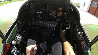 Curtiss TP-40 - Part 2 / Cockpit Tour - Kermie Cam