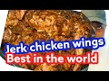 Jerk chicken wings for #thanksgivingday how to prepare it #Jamaicachef