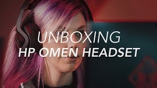 Unboxing HP OMEN Mindframe Cooling Gaming Headset - Gadget Flow Unboxing