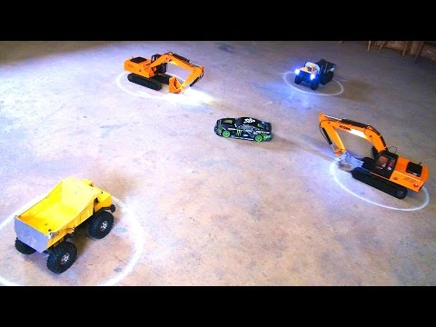 RC ADVENTURES - Learning To Drift: Part 18 - Excavator Drifting - HPi E10 - Vaughn Gittin Jr