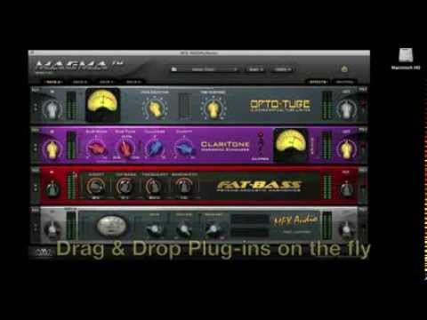 New MAGMA (VSR) Effects Rack Plug-in from Nomad Factory