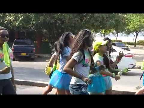 Samarios participan en la Kpintame #SantaMarta