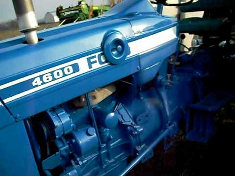 4600 ford tractor nice youtube