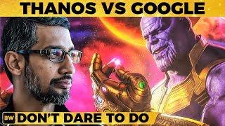 Google-ஐயும் விட்டு வைக்காத Thanos – Don't Dare To Do This!! Avengers EndGame   TK