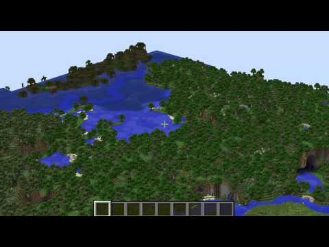 [1.7.5 Minecraft Seeds] Savanna Plateau With Hut!