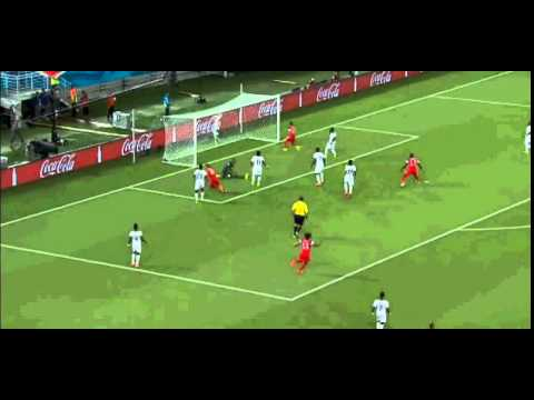 Ghana 1 - 2 USA All Goals World Cup 2014