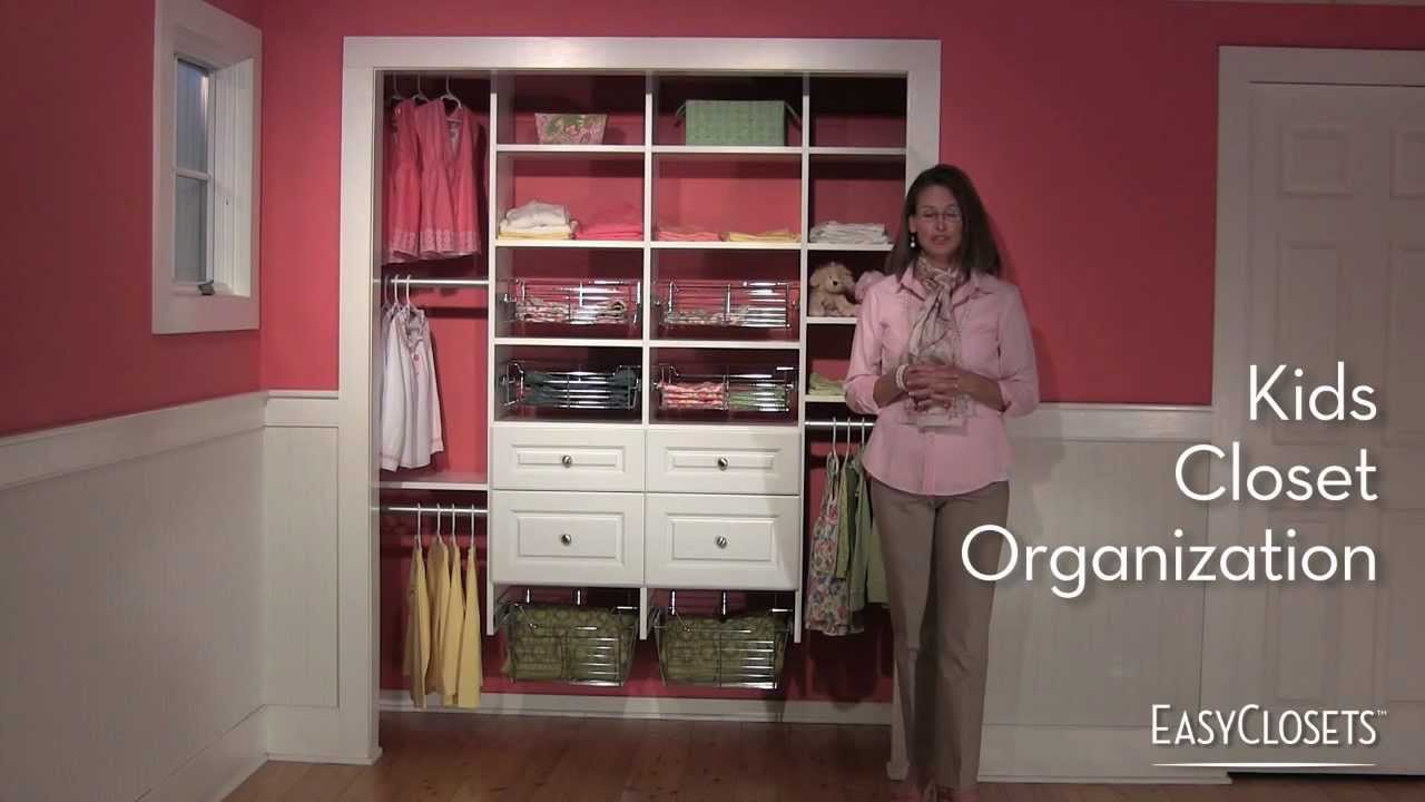 Kids Closet Organization Youtube