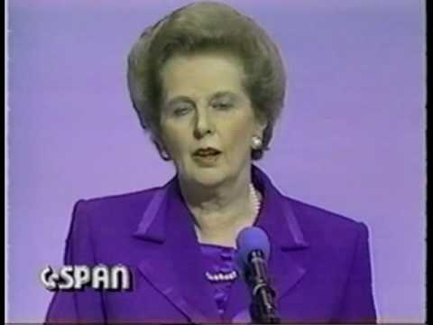 Margaret Thatcher does the Dead Parrot Sketch