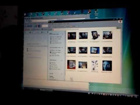 การโอนภาพจาก Notebook หรือ PC เข้า iPad
