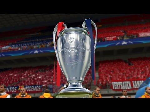 PES 2016 ::: UEFA Champions League ::: LONGPLAY ᴴᴰ ::: PlayStation 4