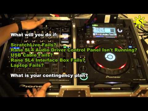Tips & Tricks: Wiring Concepts - Pioneer CDJ-2000 & Rane SL4