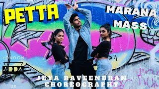 Marana Mass Petta Anirudh Dance Jeya Raveendran Choreography Ft Iswarya Shruthi