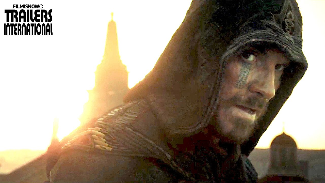 Michael Fassbender é Callum Lynch no primeiro trailer de ASSASSIN'S CREED [HD]
