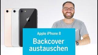 iPhone 8 - Backcover tauschen - jeder Schritt im Detail (Rückseite, iPhone komplett zerlegt)