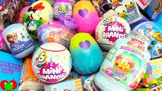 Hatchimals Pixies Surprise Eggs, Num Noms, Zuru 5 Surprises Mini Brands