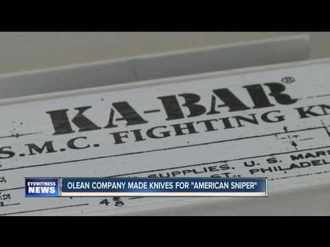 Olean Company Made knives for