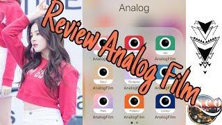  Review App  -  Analog Film, Điểm qua tính năng độc đáo của Analog   TMH TV