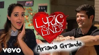 Ariana Grande lyrics PICK UP GUYS? #VEVOLyricLines: Ep. 27