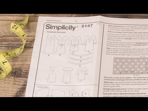 How to Read a Sewing Pattern: The Instructions