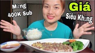 🇯🇵Mừng 400K Sub - Ăn Bò Kobe Wagyu Nướng Phủ Vàng 24 Thơm Ngon Đến Từng Thớ Thịt #252