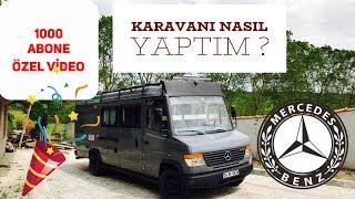 KARAVAN IMI KENDİM YAPTIM !!! En Detaylı Karavan Dönüşüm