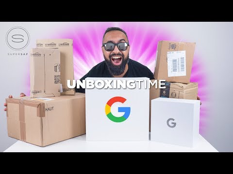 Gifts from GOOGLE - Unboxing Time Episode 17