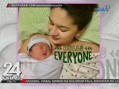 Vic Sotto at Pauleen Luna, ipinakita na ang picture ni baby Talitha Maria