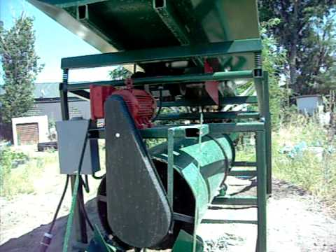 Gold wash plant - custom unit for washing sand - J.Farmer Mining