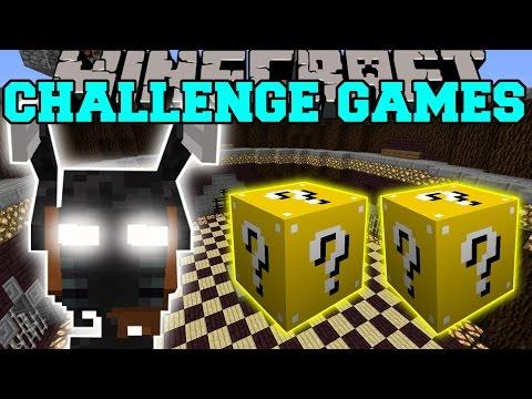 Minecraft: MORBID HARVESTER CHALLENGE GAMES - Lucky Block Mod - Modded Mini-Game