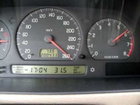 VOLVO C70 Coupe 2.0 T5 0-260 km/h Top Speed Pushing to the MAX - YouTube