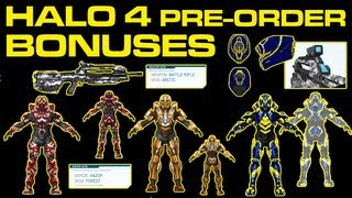 Halo 4 News - MORE Pre-Order Bonuses_ CIO Web, Deadeye, Hazop Forest, Raptor, Arctic BR, Pulse Skins