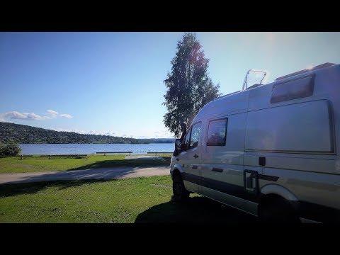 Teil 8 Mercedes-Benz Sprinter4x4: Wir reisen mit unserem Allrad-Camper-Van durch Schweden.