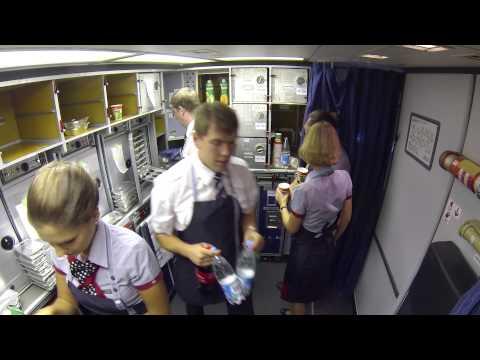 "�идео о �ом, как м� ле�ели из ��к���ка в �о�кв� на �оинге 767-300 ""Т�ан�а��о"". ��� видео �н��о на GoPro Hero 3 ��з�ка..."