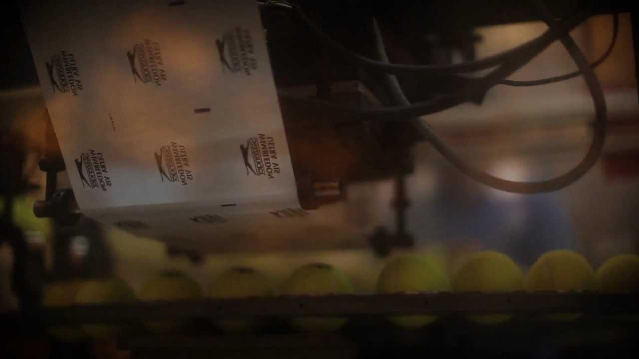 Fabrication Balle de Tennis la Fabrication Des Balles de