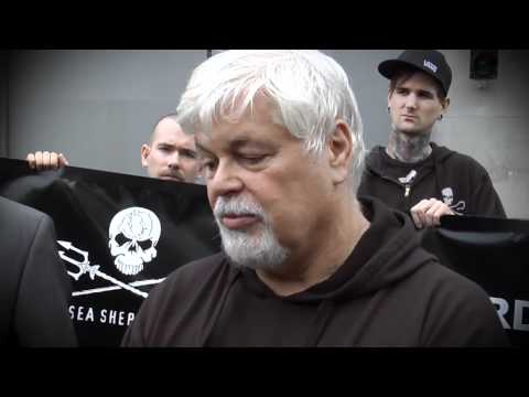 Sea Shepherd // Press Conference // Germany Frankfurt // Paul Watson