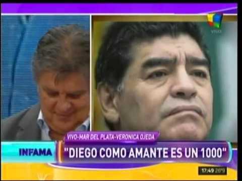 Verónica Ojeda puntuó a Diego en la cama y reveló cuándo fue la última vez que tuvo sexo con él