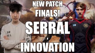 Homestory Cup XVIII FINALS! New SC2 Balance Changes - Serral (Zerg) vs Innovation (Terran)