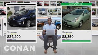 Why You Should Consider Buying A Green Car - CONAN on TBS