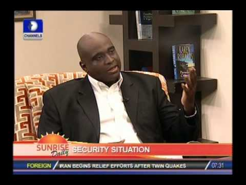 SUNRISE DAILY: Nigeria needs to create Department of Homeland Security-Ex US Army Officer PART 1