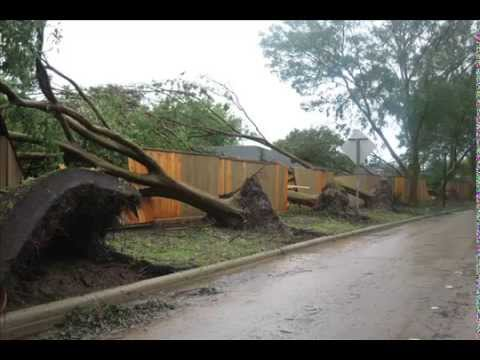 hurricane ike in sugar land, texas Video