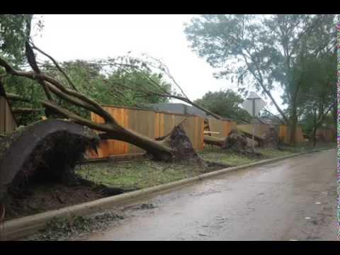 hurricane ike in sugar land, texas Video