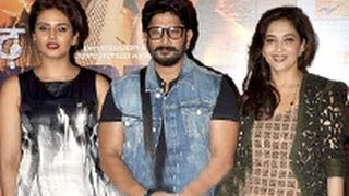 Dedh Ishqiya - Madhuri, Huma, Arshad at 'Dedh Ishqiya' Press Meet   Hindi Movie   Naseeruddin Shah, Abhishek