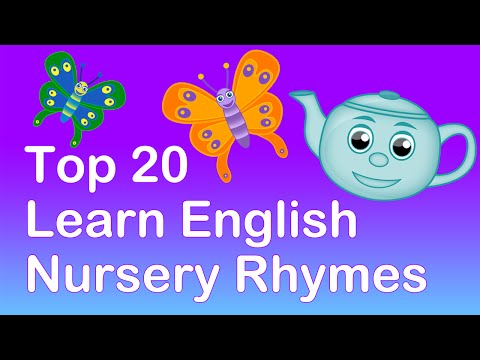 Top 20 Learn English Nursery Rhymes. Learning Playlist | Nursery...