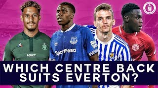 Which Centre Back Should Everton Sign This Summer?