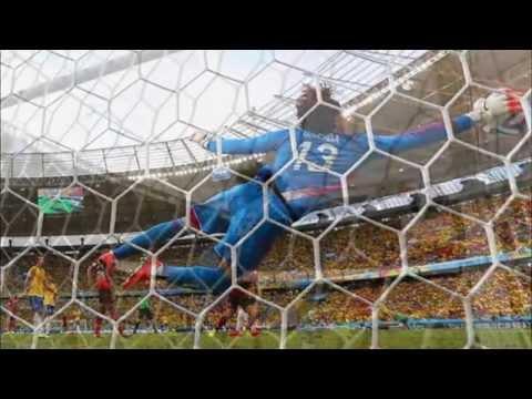 Guillermo Ochoa Saves VS Brazil   Brazil World Cup 2014   HD 720p   Man Of Match