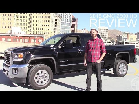 2015 GMC Sierra 2500 HD Review