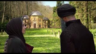 Suleiman @ The Tomb of Mustafa   MAGNIFICENT CENTURY with English Subs